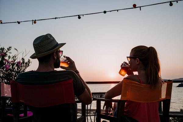 Enjoy oceanfront dining at Sharkey's