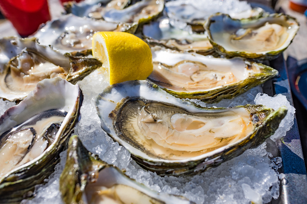 Enjoy oysters at Dirty Don's